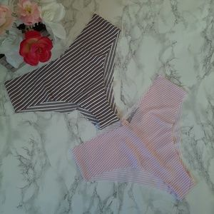 2 VS Victoria's Secret  Cheeky  Panties XL